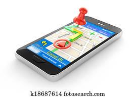 Smart phone navigator