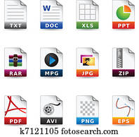 Web Icons - File Types