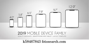 Complete Next generation device family included mobile phones, tablet, phablet, desktops and laptops