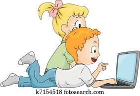 Kids Searching