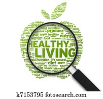 Magnifying Glass - Healthy Living