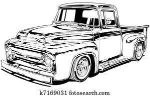 56 Vintage Custom Pickup