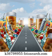 Medicine And Medication Concept