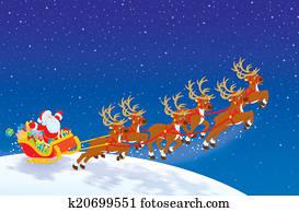 Sleigh of Santa