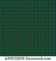 Clan Mac Alpine Tartan