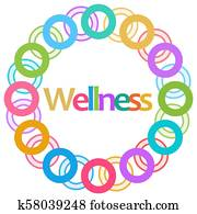 Wellness Colorful Rounded Circle