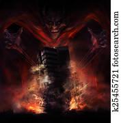 Devil destruction
