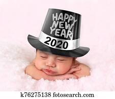 Happy New Year 2020 baby