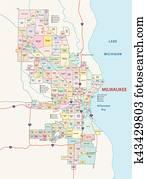 milwaukee neighborhood map
