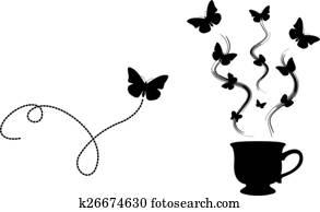 Tea Butterfly (logo)