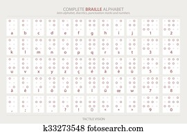 Braille Alphabet Poster Clipart | Our Top 100 Braille