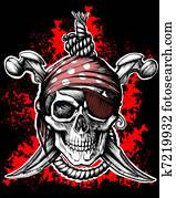 Jolly Roger, pirate symbol