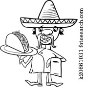 Lovebugs and Postcards - DIY, Crafts, Recipes, Reviews ... |Taco Salad Coloring Pages