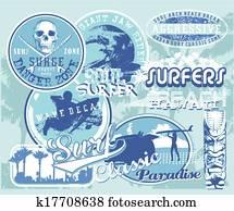 surf hawaii wave