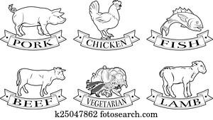 Food labels set