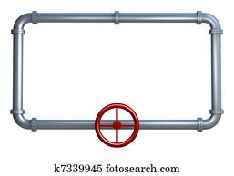 pipes frame