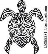 turtle tatto design