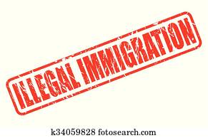 Stock Images of Illegal immigration k0619186 - Search ...