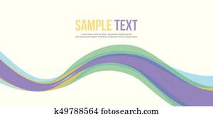 Abstract background style banner collection