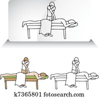 chiropraktiker, angleichen, rückgrat