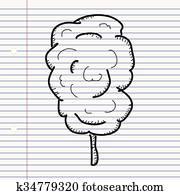 Clipart dessin anim barbe papa k53899228 recherchez des cliparts des illustrations des - Barbe a papa dessin anime ...