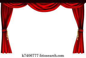 Theatre or cinema curtains