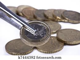 Stock Bilder Britische Pfund Münzen K7444356 Suche