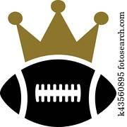 American Football Crown