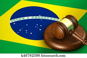 Brazil Law Legal System Concept