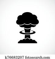 Nuclear Explosion Clip Art Vectors | Our Top 1000+ Nuclear ...