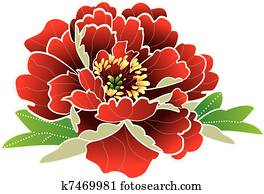 chinese new year flower