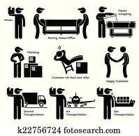 antragsteller, dienstleistungen, bewegliches haus, büro