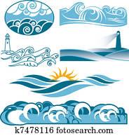 Rolling Blue Seas