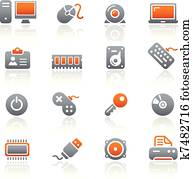 Computer & Devices Icons / Graphite