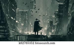 a good detective in a cruel world