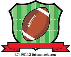 Gridiron Football Shield