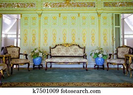 furniture in palace
