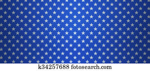 Patriotic US background with stars