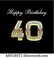 Happy Birthday 40