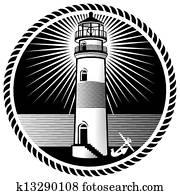 leuchtturm, merkzeichen