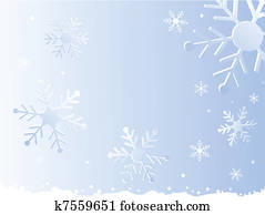 snowflake, christmas background