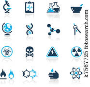 Science Icons / Azure