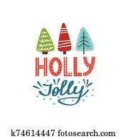 stechpalme, lustig, weihnachtskarte
