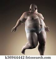 extremally fat man