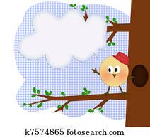 Stock Fotografie A Kind In A Vogel Kostum Schneiden Lustigen