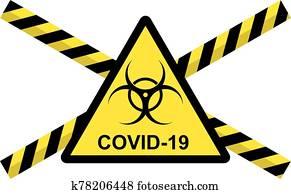 vektor, von, begriff, von, 2019-ncov, covid, coronavirus
