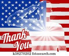 veteranentag, danke, amerikaflagge