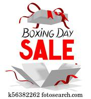 Boxing Day illustration