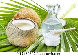 Coconut oil.