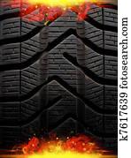 fire tire